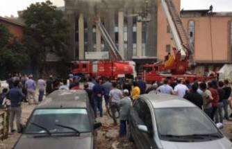 Bursa'da mobilya fabrikasını alevler sardı