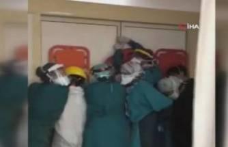 Sağlık çalışanlarına saldıranlar hakkında yeni gelişme