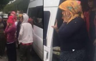 14 kişilik minibüsten 37 kişi çıktı! Polisler bile şaşırdı