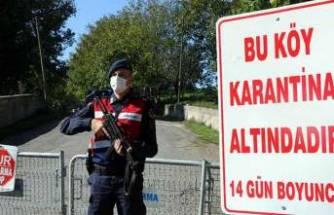 23 kişi koronavirüse yakalandı! Köy karantinaya alındı