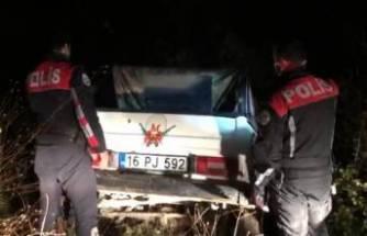 Bursa'da polisten off-road aracıyla kaçan şüpheli yakalandı