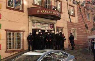 HDP İl Binası'nda arama yapılıyor!