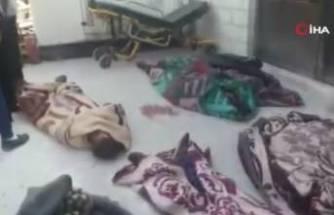 Rus savaş uçaklarından İdlib'de kanlı saldırı