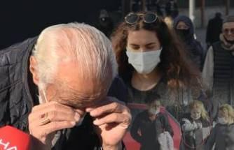 Bursa'da yaşlı adam, tedbirlere uymayanları görünce ağladı