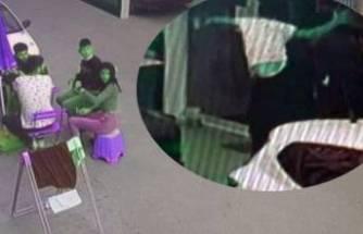 Kaçan hırsızı uçan tekmeyle durdurdu