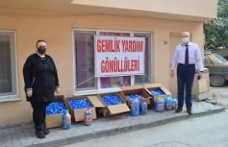 Bursa'da mavi kapaklar umut olmaya devam ediyor