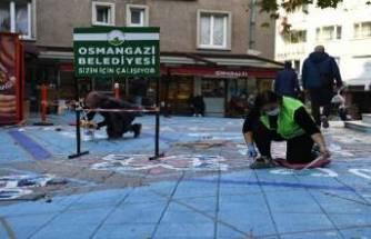 Bursa'da sokaklar sanatla buluşuyor