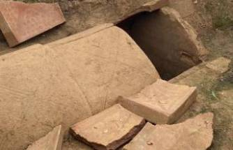 İznik'te oda mezarlar bulundu