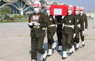 Şehit uzman çavuşun cenazesi memleketi Mardin'e uğurlandı