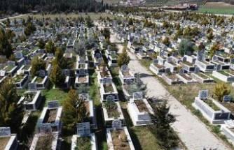 Bursa'da bulunan Hamitler Kent Mezarlığı'nda yer kalmadı!