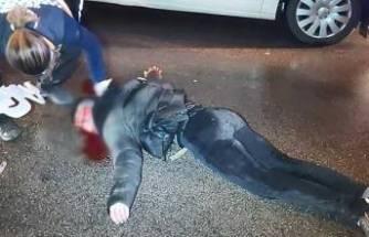 Bursa'da feci olay! Aracın önüne atlayan genç kanlar içinde kaldı