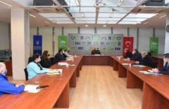 Bursa Kent Konseyi Bursa Çalışma Gurubu'ndan 1/100000'lik plan raporu
