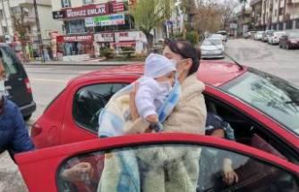 Asya bebek annesine kavuştu!