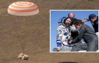 ISS'te 6 ay kalan astronot ve kozmonotlar dünyaya döndü