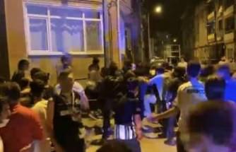 Beşiktaş'ın şampiyonluğu sonrası Bursa'da olay çıktı! Tekme, tokat kavga ettiler
