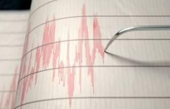Bingöl'de büyüklüğünde deprem!