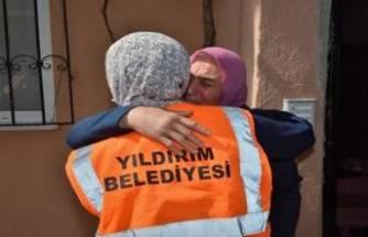 Bursa Yıldırım Belediyesi şehit annelerini unutmadı