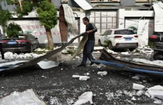 Çin'i hortum vurdu! 12 ölü, yüzlerce yaralı