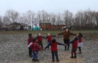 Köy okullarının kalbi Bursa Orhaneli'de atacak
