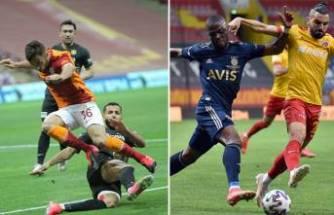 Süper Lig'i Galatasaray 2'nci, Fenerbahçe 3'üncü sırada tamamladı