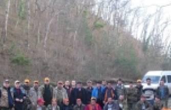 ÇATALZEYTİN'DE 40 AVCI SÜREK AVINA ÇIKTI