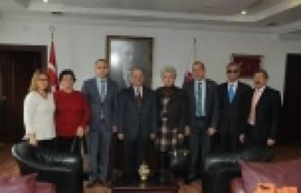 Chp Kırıkkale İl Yönetiminden Vali Kolat'a Ziyaret