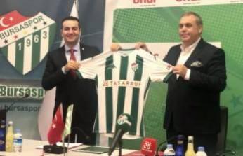 Bursaspor'dan forma göğüs sponsoru anlaşması