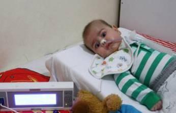 SMA hastası minik Enis yardım bekliyor