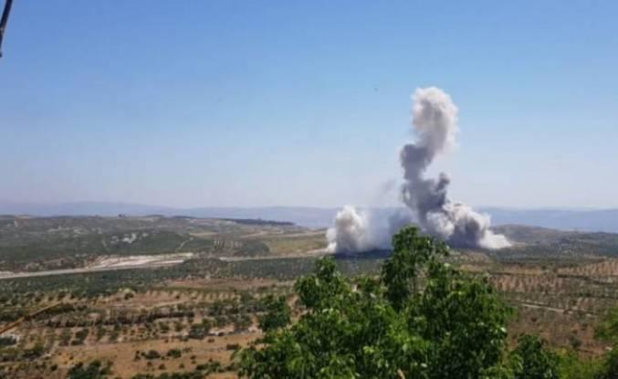 İdlib'de TSK konvoyuna hain saldırı
