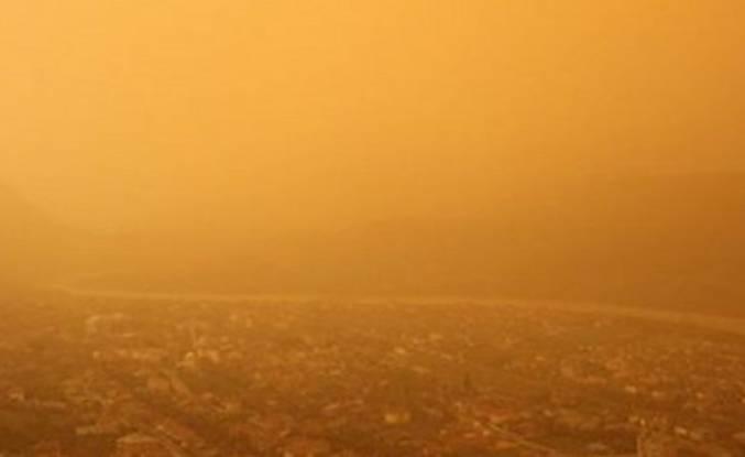 Meteorolojiden flaş toz fırtınası açıklaması!