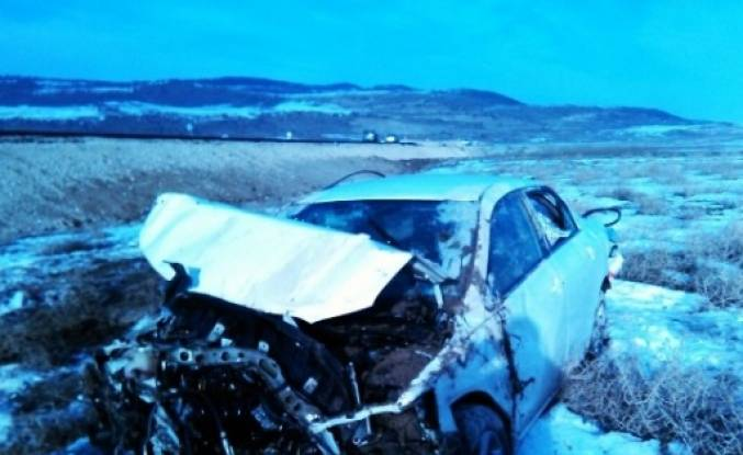 Adilcevaz'da Otomobil Takla Attı: 2 Yaralı