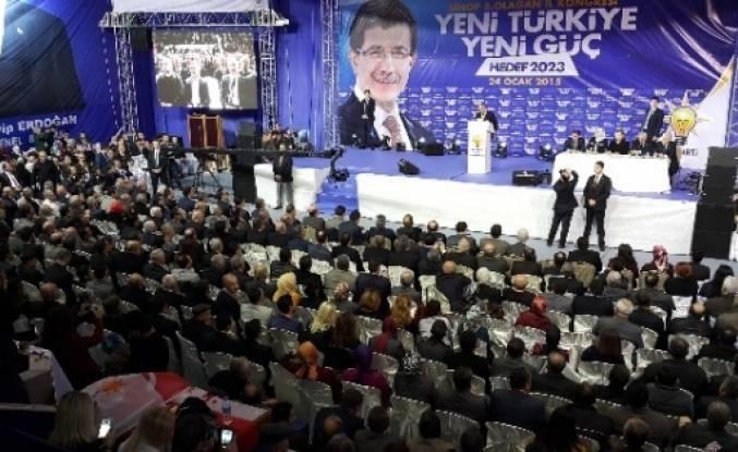 Ak Parti Sinop Kongresini Yaptı