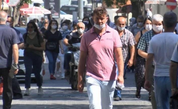 Bursa'da maske kuralı unutuldu