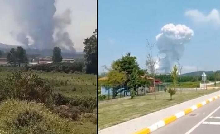 Havai fişek fabrikasında şiddetli patlama! 4 can kaybı, 97 yaralı var