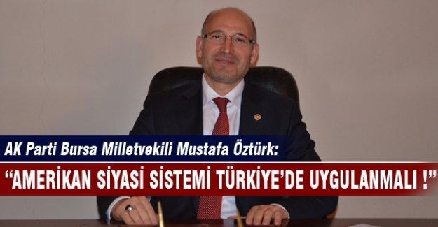 AK Partili Öztürk'ten çok konuşulacak açıklama!