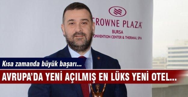 Crowne Plaza Bursa'dan büyük başarı!