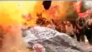 Suruç' ta ki patlama anı kamerada
