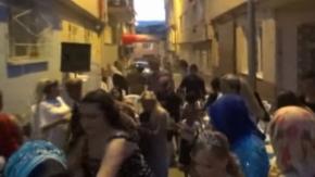 Bursa'da korku dolu anlar! Düğünden bir anda böyle dağıldılar