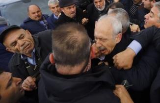 CHP lideri Kılıçdaroğlu'na saldırı