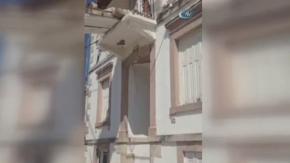 Deprem Yunanistan'da da hissedildi: Bazı binalar yıkıldı