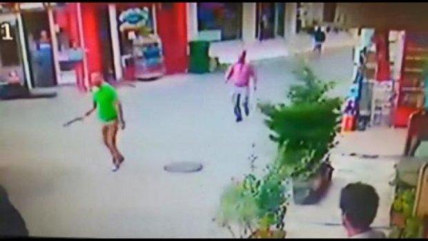 Bursa'da esnafın bıçaklı-sopalı kavgası