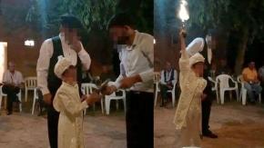 Sünnet düğününde pes dedirten görüntü!