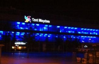Bursa'da Kent Meydanı AVM'de korkutan yangın!