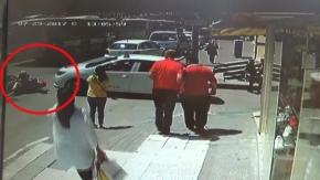 Bursa'da motosikletli çift ölümden döndü!