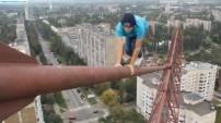 Rusya'da çekilen bu görüntüler yürekleri ağza getirdi